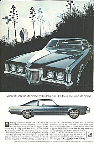 1969 Pontiac Grand Prix 2 Door Hardtop pont032 (Image1)