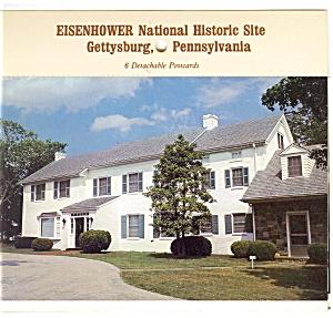 Gettysburg PA Souvenir Folder sf0011 (Image1)