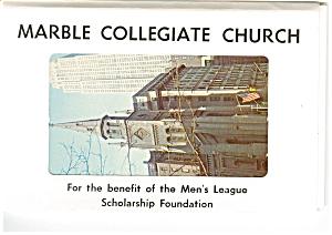 Marble Collegiate Church New York City Souvenir Folder sf0012 (Image1)