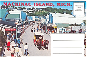 Mackinac Island, Michigan Souvenir Folder sf0018 (Image1)