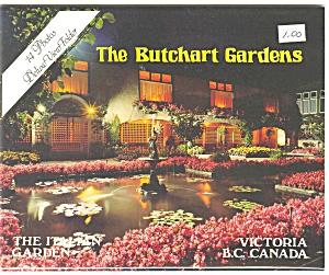 Butchart Gardens Canada Souvenir Folder sf0019 (Image1)