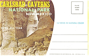 Carlsbad Caverns, Nm Souvenir Folder Sf0033