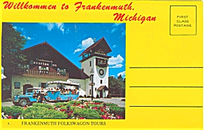 Frankenmuth, Mi Souvenir Folder Sf0039