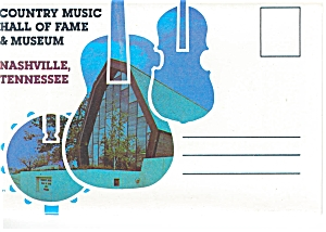 Country Music Hall Of Fame Souvenir Folder Sf0041