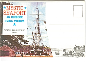 Mystic Seaport Mystic Ct Souvenir Folder Sf0048