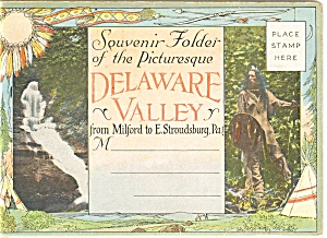 Delaware Valley Vintage Souvenir Folder Sf0078