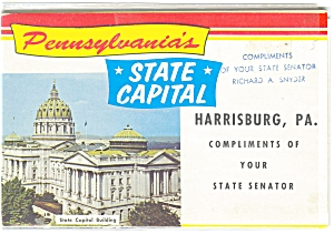 Pennsylvania State Capital Souvenir Folder sf0087 (Image1)