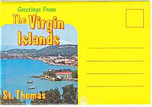 The Virgin Islands Souvenir Folder Sf0111