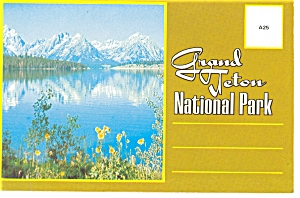 Grand Teton National Park Souvenir Folder (Image1)