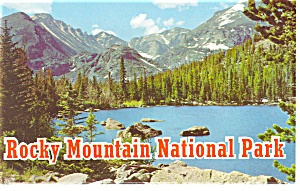 Rocky Mountain  National Park CO Souvenir Folder sf0134 (Image1)