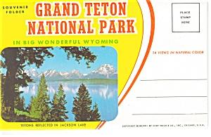 Grand Teton National Park WY Souvenir Folder sf0140 (Image1)