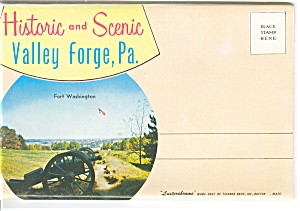 Valley Forge, Pa, Souvenir Folder