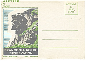 Franconia Notch Reservation,souvenir Folder Sf0156
