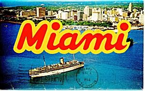 Miami FL,Souvenir Folder  14 Views ca 1956 sf0158 (Image1)