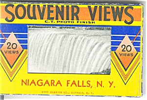 Niagara Falls, Ny Souvenir Folder 19 Views Sf0197