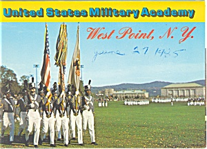 Us Military Academy West Point Ny Souvenir Folder Sf0207