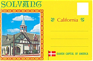 Solvang, California Souvenir Folder Sf0209