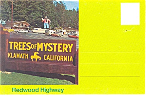 Trees Of Mystery Klamath California Souvenir Folder Sf0210
