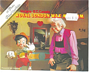 London Wax Museum Victoria Bc Canada Souvenir Folder Sf0213