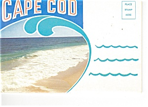 Cape Cod Massachusetts Souvenir Folder Sf0226