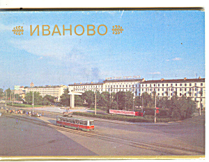 Russia  Souvenir Folder 15 Postcards sf0239 (Image1)