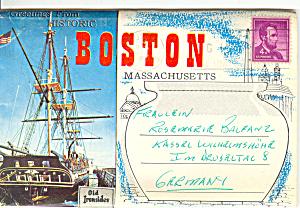 Boston Massachusetts Fenway Park Souvenir Folder sf0243 1958 (Image1)