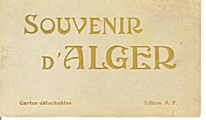 Algeria  Vintage Souvenir Folder sf0245 (Image1)