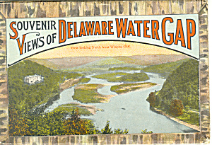 Delaware Water Gap Souvenir Folder Sf0262