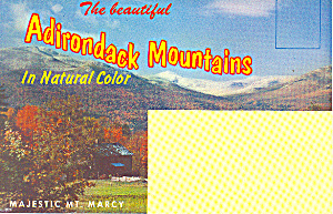 Adirondack Mountains Souvenir Folder