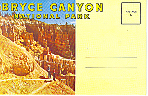 Bryce Canyon National Park UT Souvenir Folder sf0275 (Image1)