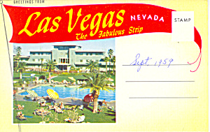 Fabulous Strip Las Vegas, Nevada Souvenir Folder