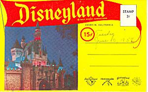 Disneyland Anaheim  CA Souvenir Folder sf0283 (Image1)