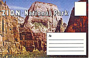 Zion National Park,Utah Souvenir Folder (Image1)