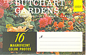 Butchart Gardens, Victoria, BC Souvenir Folder (Image1)