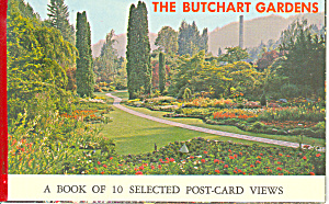 Butchart Gardens, Victoria, BC Postcards (Image1)