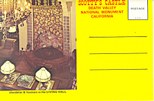 Scotty S Castle Death Valley California Souvenir Folder Sf0297