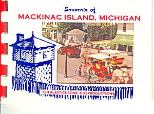 Mackinac Island, Michigan Souvenir Folder