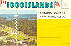 1000 Islands Ontaio Canada Souvenir Folder