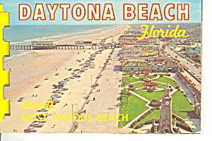 Daytona Beach, Florida Souvenir Folder
