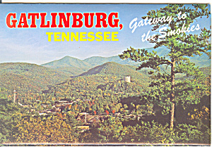 Gatlinburg, Tennesse Souvenir Folder Sf0373