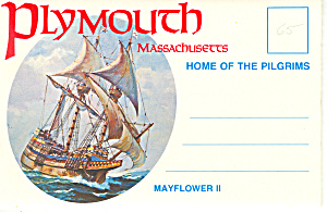 Plymouth, Massachusetts Souvenir Folder Sf0378