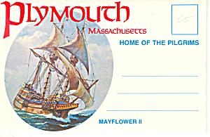 Plymouth, Massachusetts Souvenir Folder sf0378 (Image1)
