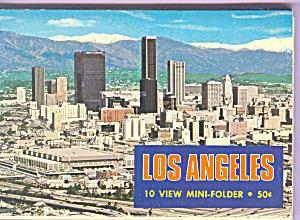 Los Angeles  California Souvenir Folder sf0396 (Image1)