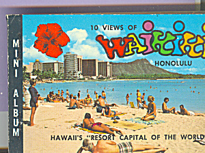 Waikiki, Hawaii Souvenir Folder Sf0401