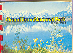 Grand Teton National Park WY  Souvenir Folder  sf0406 (Image1)
