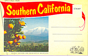 Southern California Souvenir Folder Sf0416