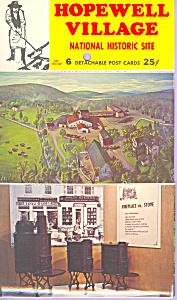 Hopewell Village PA National Historic Site  Souvenir Folder sf0423 (Image1)