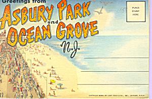 Asbury Park Ocean Grove NJ Souvenir Folder sf0428         (Image1)