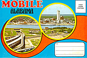 Mobile, Alabama Souvenir Folder Sf0433