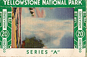 Colored Minitures of Yellowstone National Park (Image1)